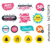 sale shopping banners. special... | Shutterstock .eps vector #562753978
