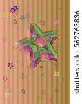 universe template icon | Shutterstock .eps vector #562763836