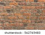 detail of a wall made of... | Shutterstock . vector #562765483
