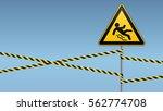 caution   danger   beware of... | Shutterstock .eps vector #562774708