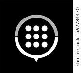 menu    black vector icon