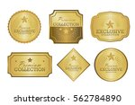 exclusive collection sale... | Shutterstock .eps vector #562784890