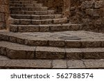 ancient stairs in stone old...   Shutterstock . vector #562788574