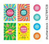 web banners and sale posters....   Shutterstock .eps vector #562789528