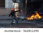 riots  street protest | Shutterstock . vector #562811290