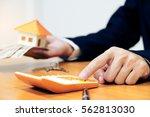 property management concept ... | Shutterstock . vector #562813030