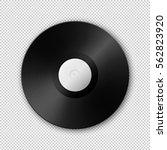 realistic vector music... | Shutterstock .eps vector #562823920
