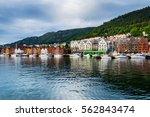 Bergen  Norway. View Of...