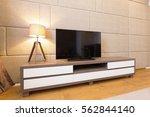 living room interior   Shutterstock . vector #562844140