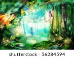 The Magic Forest With Fairies....