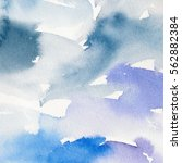 abstract watercolor painting.... | Shutterstock . vector #562882384