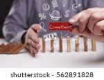 business  technology  internet... | Shutterstock . vector #562891828