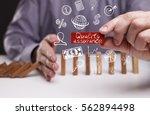 business  technology  internet... | Shutterstock . vector #562894498