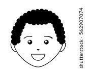 young man avatar character... | Shutterstock .eps vector #562907074