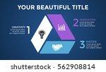 vector circle arrows... | Shutterstock .eps vector #562908814