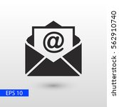 mail icon  | Shutterstock .eps vector #562910740