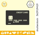 credit card icon | Shutterstock .eps vector #562919419