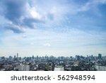 cityscape bangkok skyline ... | Shutterstock . vector #562948594