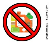 no chemical sign | Shutterstock .eps vector #562958494