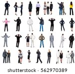 "collection ""back view of ... 