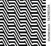 white and black pattern... | Shutterstock .eps vector #562985104