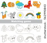 funny set to find the... | Shutterstock .eps vector #562990843
