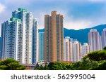 nan lian garden in hong kong... | Shutterstock . vector #562995004