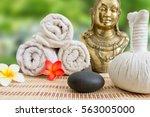 wellness spa massage still life | Shutterstock . vector #563005000