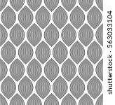 almond like stripes  lines... | Shutterstock .eps vector #563033104