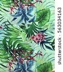 the beautiful of art fabric...   Shutterstock . vector #563034163