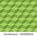 cubic seamless pattern. flat... | Shutterstock .eps vector #563060824
