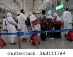madinah  saudi arabia 30 nov.... | Shutterstock . vector #563111764