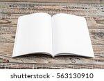 blank catalog  magazines book...   Shutterstock . vector #563130910