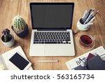 computer network connection... | Shutterstock . vector #563165734