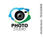 logo for photo studio | Shutterstock .eps vector #563166868