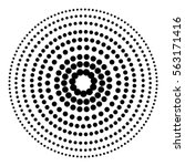 circle dot patterns  dotted...   Shutterstock .eps vector #563171416