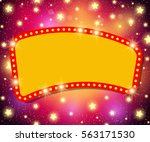 abstract shining retro light... | Shutterstock .eps vector #563171530