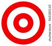 abstract element. geometric... | Shutterstock . vector #563183110