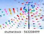 vivid color of thai's style... | Shutterstock . vector #563208499