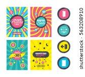 sale website banner templates.... | Shutterstock . vector #563208910