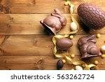 Chocolate Easter Eggs  Rabbits...