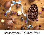 Chocolate Easter Eggs  Rabbit...
