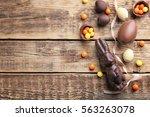 Chocolate Easter Eggs  Rabbit...