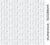 white knitted seamless texture. ... | Shutterstock .eps vector #563288644