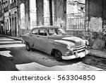 black and white tone of old... | Shutterstock . vector #563304850