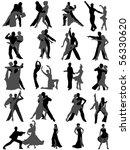 dance | Shutterstock .eps vector #56330620