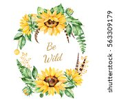 Colorful Floral Template Card...
