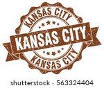 kansas city | Shutterstock .eps vector #563324404