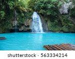 Kawasan Falls On Cebu Island I...