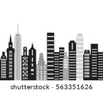 the city.building vector... | Shutterstock .eps vector #563351626